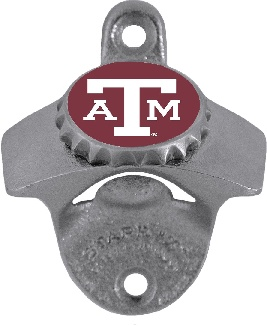 Texas A&M Wall Mount Bottle Opener