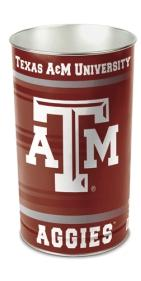 Texas A&M Waste Paper Basket