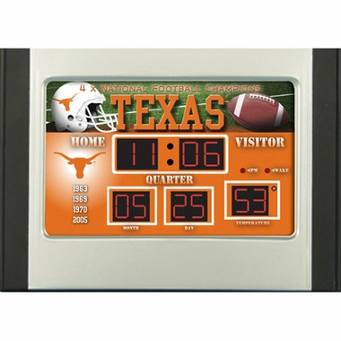 Texas Alarm Clock Desk Scoreboard