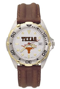 Texas All Star Mens (Leather Band) Watch