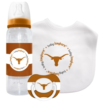 Texas Longhorns Baby Gift Set