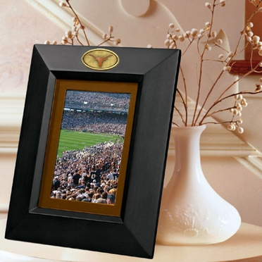 Texas BLACK Portrait Picture Frame