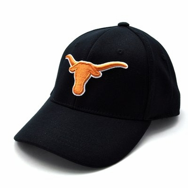 Texas Black Premium FlexFit Baseball Hat