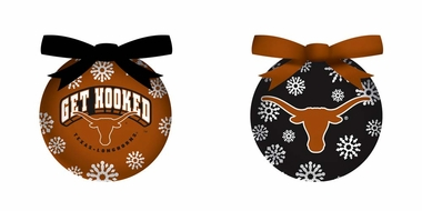 Texas Boxed LED Ornament Set