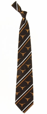 Texas Cambridge Woven Silk Necktie