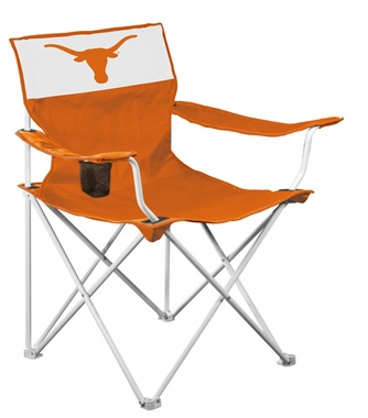 Texas Canvas Adult Folding Logo Chair
