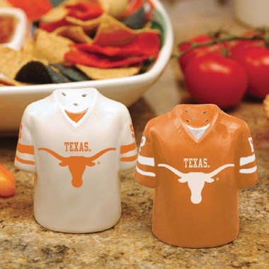 Texas Ceramic Jersey Salt and Pepper Shakers