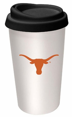 Texas Ceramic Travel Cup