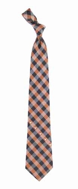 Texas Check Poly Necktie