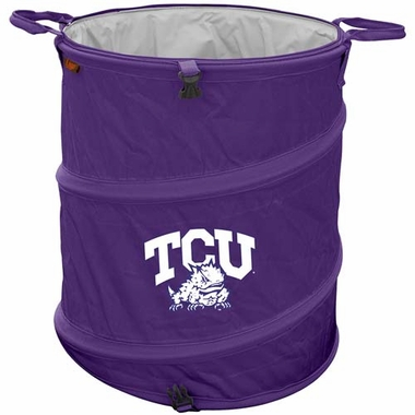 Texas Christian Light Duty Trash Can
