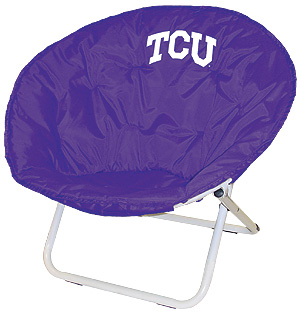 Texas Christian Sphere Chair