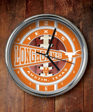 Texas Chrome Clock