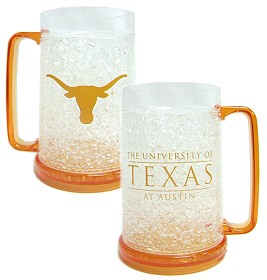 Texas Longhorns Crystal Freezer Mug