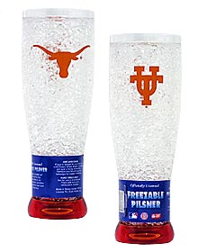 Texas Crystal Pilsner Glass