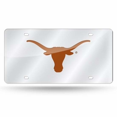 Texas Deluxe Mirrored Laser Cut License Plate