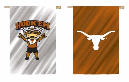 Texas Double Sided Sub Suede Flag