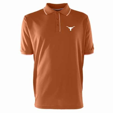 Texas Mens Elite Polo Shirt (Team Color: Orange)