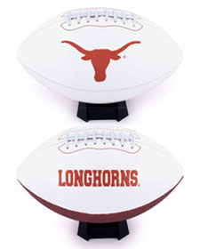 Texas Embroidered Foto Football