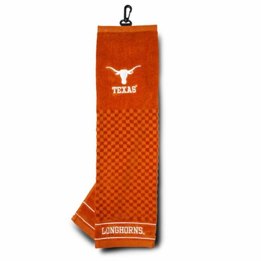 Texas Embroidered Golf Towel