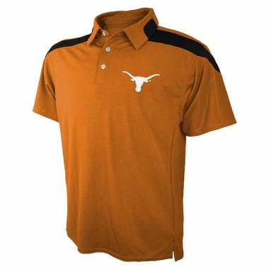 Texas Embroidered Logo Polyester Polo Shirt