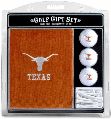Texas Embroidered Towel Gift Set