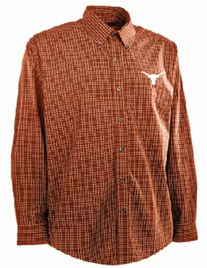 Texas Mens Esteem Button Down Dress Shirt (Team Color: Orange)