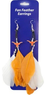 Texas Feather Earrings