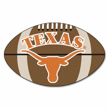 Texas Football Shaped Rug