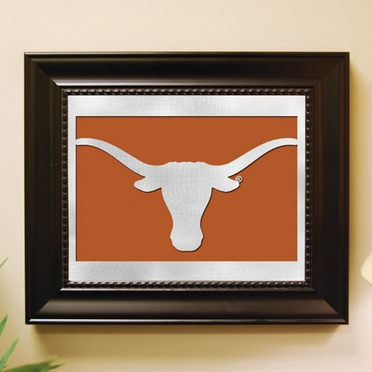 Texas Framed Laser Cut Metal Wall Art