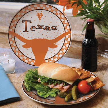 Texas Gameday Ceramic Plate