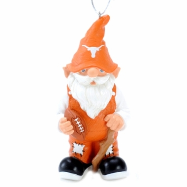 Texas Gnome Christmas Ornament
