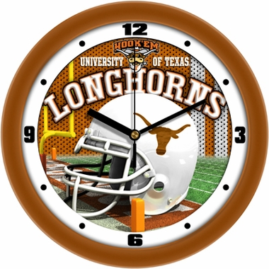 Texas Helmet Wall Clock