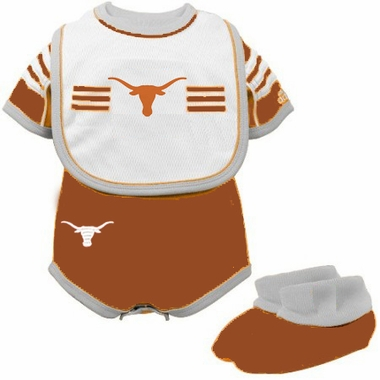 Texas Infant 3 Piece Creeper Set