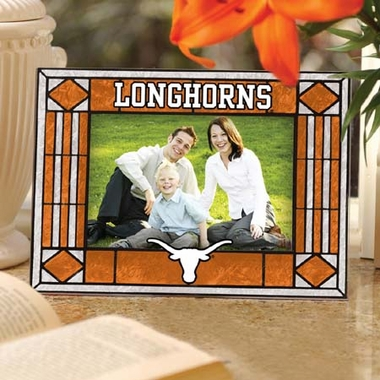 Texas Landscape Art Glass Picture Frame
