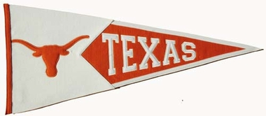 Texas Large Wool Pennant