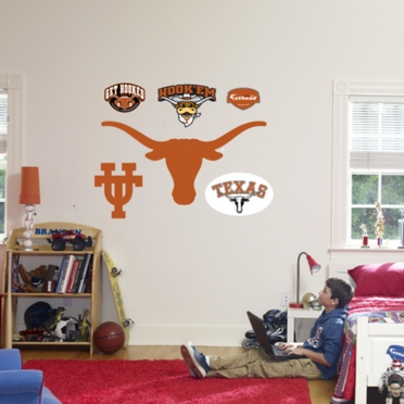 Texas Logo Fathead Wall Graphic