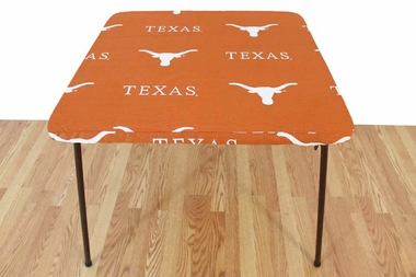 Texas Longhorns Card Table Cover