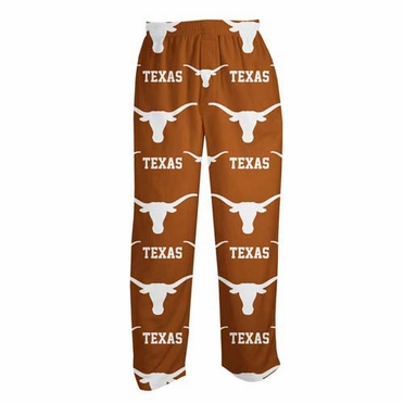 "Texas Longhorns ""Highlight"" Men's Micro Fleece Pajama Pants"