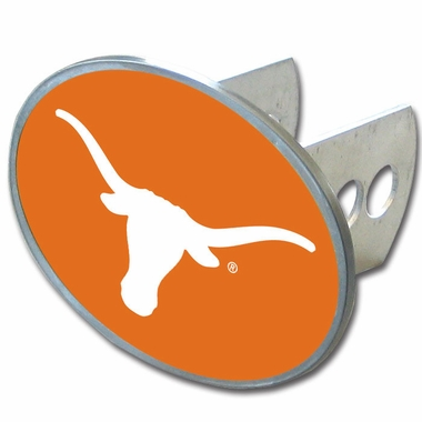 Texas Oval Metal Hitch Cover