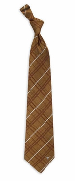 Texas Oxford Stripe Woven Silk Necktie