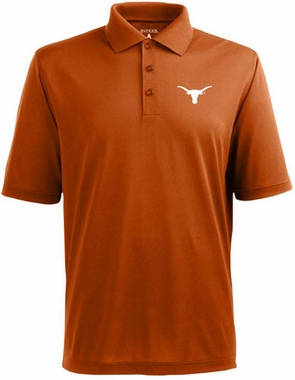 Texas Mens Pique Xtra Lite Polo Shirt (Team Color: Orange)