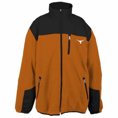 Texas Poly Dobby Full Zip Polar Fleece Jacket