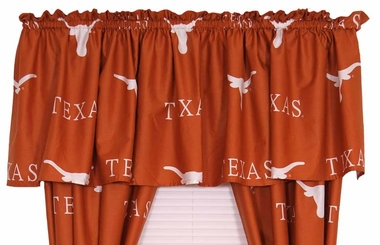 Texas Printed Curtain Valance - 84 x 15