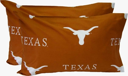 Texas Printed Pillow Case - King - (Set of 2) - Solid