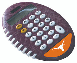 Texas Longhorns Pro-Grip Calculator