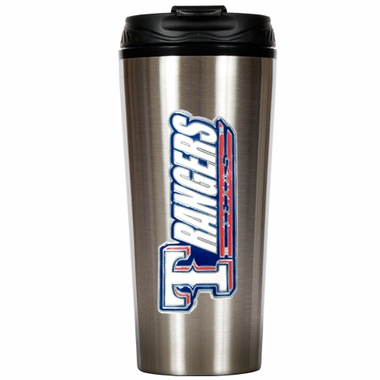 Texas Rangers 16 oz. Thermo Travel Tumbler