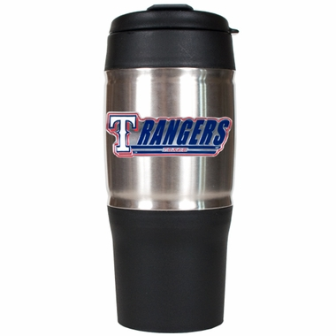 Texas Rangers 18oz Oversized Travel Tumbler