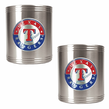 Texas Rangers 2 Can Holder Set