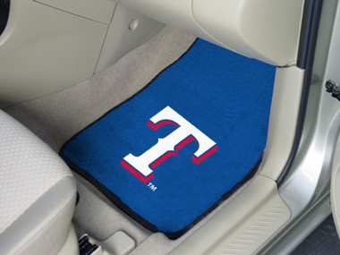 Texas Rangers 2 Piece Car Mats