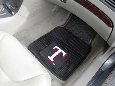 Texas Rangers 2 Piece Heavy Duty Vinyl Car Mats